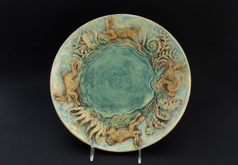 Running Hares Plate